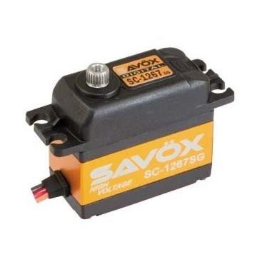 Servo Savox SC 1267 SG 0,095 segundos, hasta 20kg de fuerza