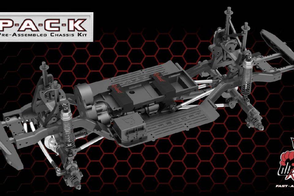 Crawler Redcat Racing Gen8 PACK, montado